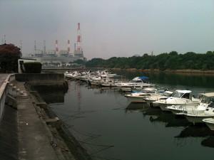 大門付近(JFE)福山港