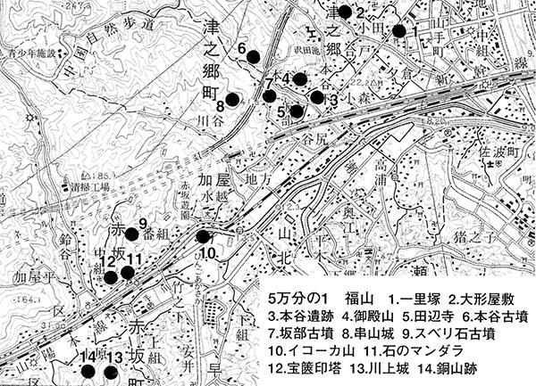 津之郷・赤坂地区