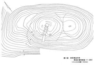 第2図 神石郡油木町 馬塚古墳実測図(1:200)
