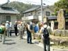 神辺の相撲力士「外ケ島弥五郎」の碑