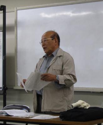 城郭研究部会学習会矢田貞美