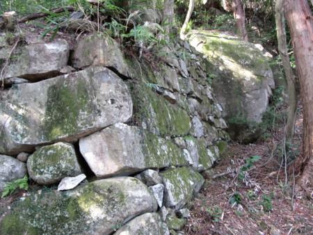 観音寺城跡石垣