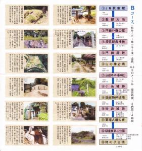 福山古墳ロードBコース