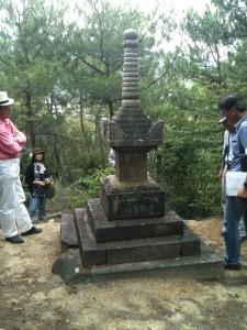 八幡神社宝筐印塔