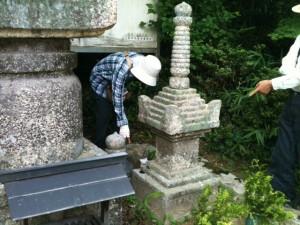 安福寺宝篋印塔