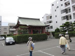 住吉神社へ着きました