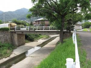 鞆軽便鉄道の橋脚