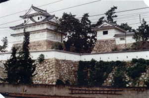筋鉄御門と伏見櫓