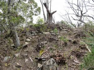 風雲の鷲尾山城と木梨杉原氏盛衰の跡を訪ねて08