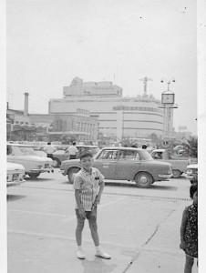 昭和40年頃福山駅前