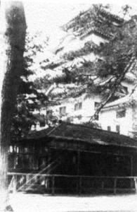 福山城本丸猿小屋