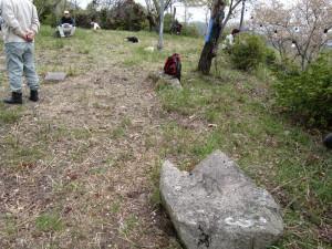 風雲の鷲尾山城と木梨杉原氏盛衰の跡を訪ねて11