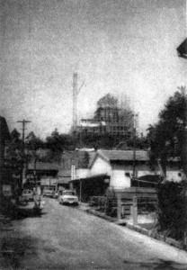 再建中の福山城2
