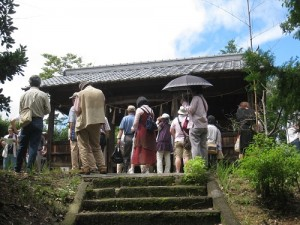 惣戸神社にて