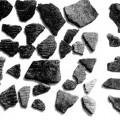 浜貝塚 縄文土器と石器