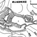 錦山城跡略測図
