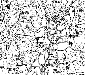 第一図 古墳位置図
