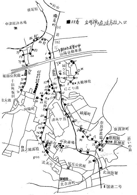 千田町八十八ケ所