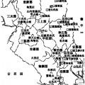 宮氏一族の分布図