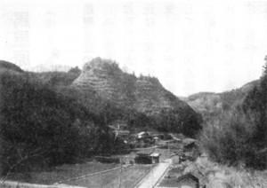福永の高尾城跡