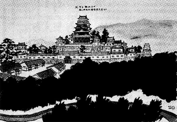 北から眺めりゃ(福山城私的想像復元図)