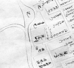 水野家時代福山城下明細図