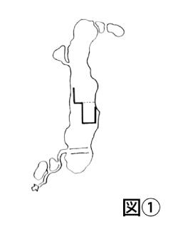 銀山城跡縄張図1