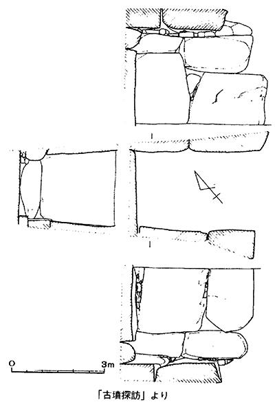 二塚古墳図