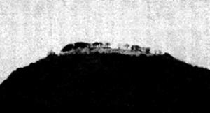石見銀山争奪の攻防戦が繰り広げられた山吹城