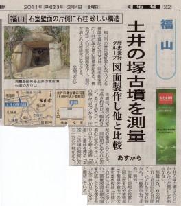 土井の塚古墳測量調査1