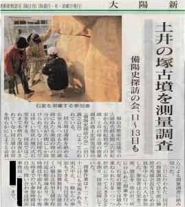 土井の塚古墳測量調査6